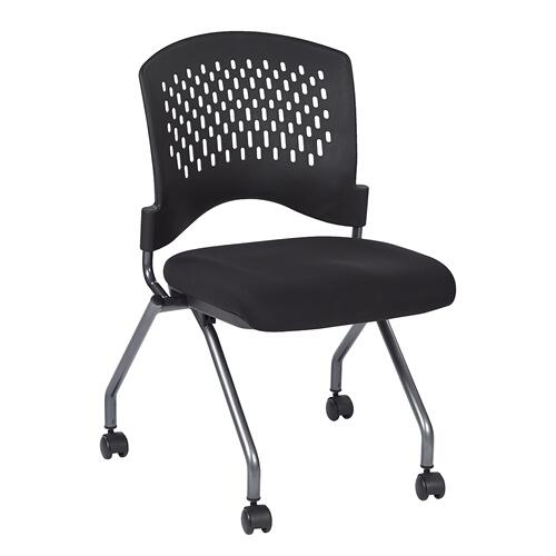 Deluxe Armless Folding Chair