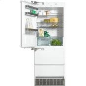 KFN 9855 iDE - PerfectCool fridge-freezer maximum convenience thanks to generous large capacity and ice maker.