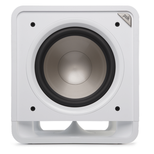 "10"" Subwoofer with Power Port Technology in White"