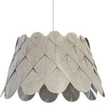Product Image - 1lt Amirah Pendant Camelot Grey, Polished Chrome