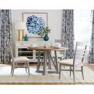 Osborne - Upholstered Ladderback Side Chair - Gray Skies Finish Product Image