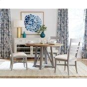 Osborne - Round Dining Table Top - Gray Skies Finish