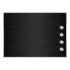 "Lustre Stainless 30"" Electric Radiant Cooktop"