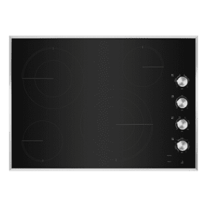 "Jenn-AirLustre Stainless 30"" Electric Radiant Cooktop"