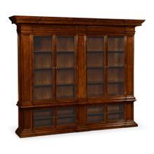 See Details - Venetian English Mahogany Bookcase