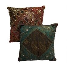 Old Rajestan Embroidery Pillow