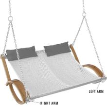 See Details - Replacement Arm for Curved Arm Double Rope Swing