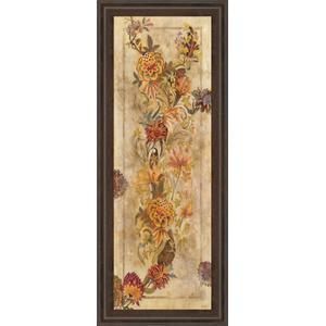 """Fleur Delicate Il"" By Georgie Framed Print Wall Art"