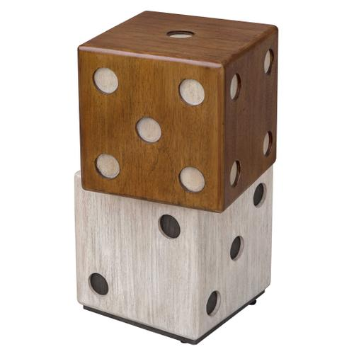Roll the Dice Accent Table