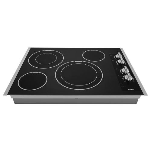 Gallery - 30-inch Electric Cooktop with Two Dual-Choice Elements