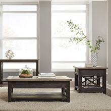 Opt 3 Piece Set (1-Cocktail 2-End Tables)