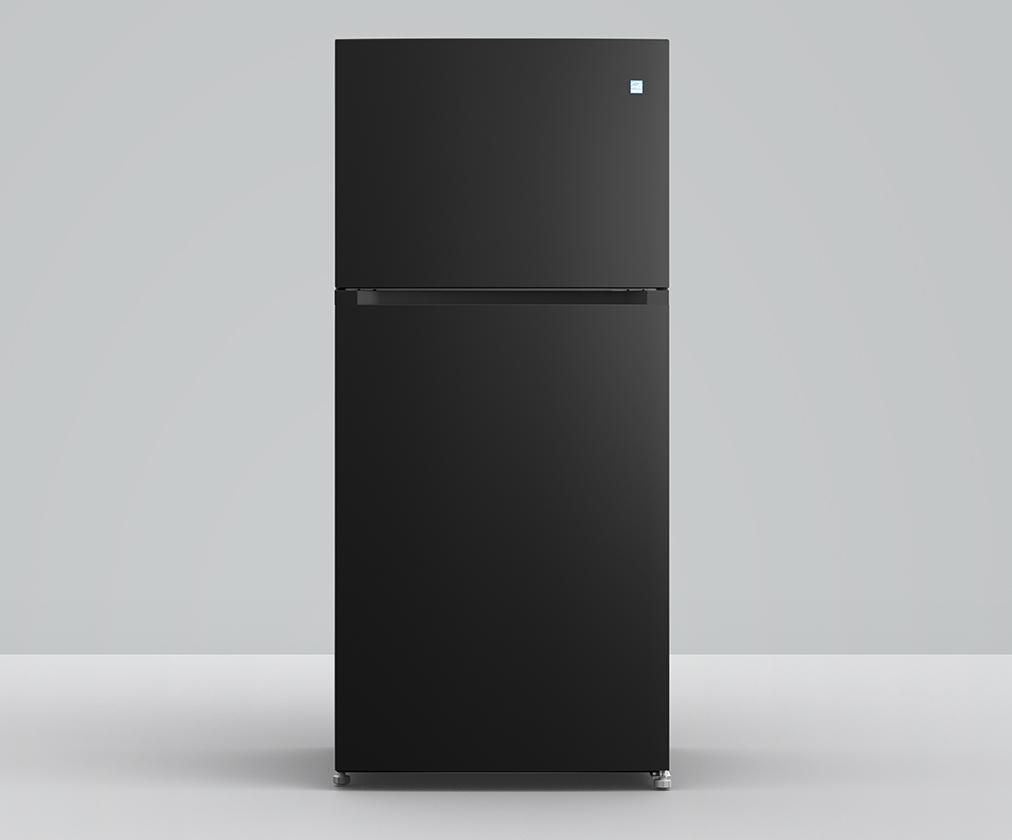 Element ApplianceElement 18 Cu. Ft. Top Mount Refrigerator (Black)