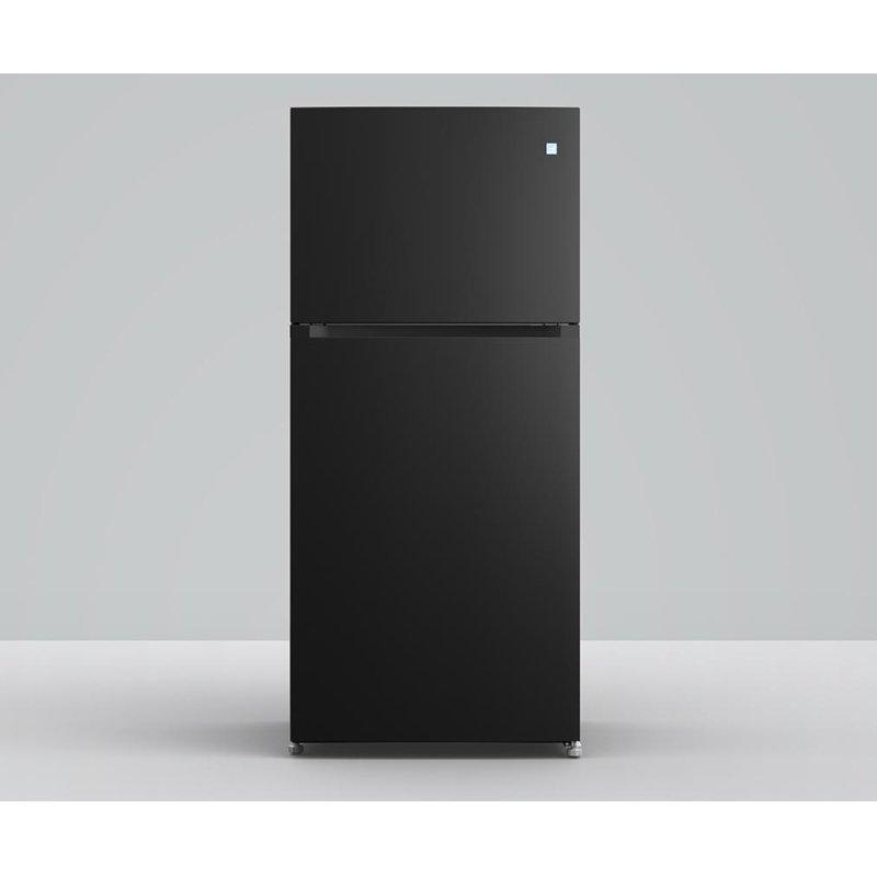 Element 18 cu. ft. Top Mount Refrigerator (Black)