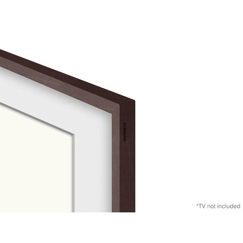 "(2021) 50"" The Frame Customizable Bezel - Modern Brown"