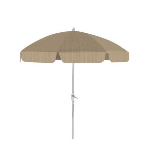 Drape Umbrella 7 1/2' 8-Rib Drape Umbrella with Tilt