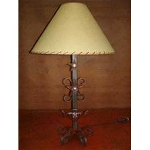 See Details - Longhorn Metal Lamp