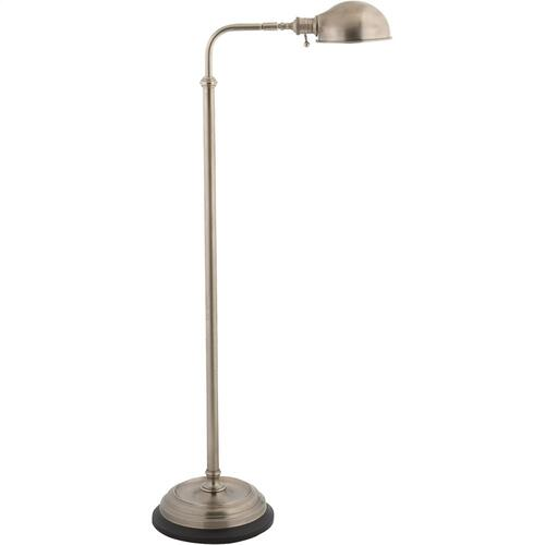 Visual Comfort CHA9161AN E. F. Chapman Apothecary 40 inch 60 watt Antique Nickel Task Floor Lamp Portable Light