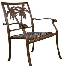 Palm Bay Stackable Woven Seat Armchair