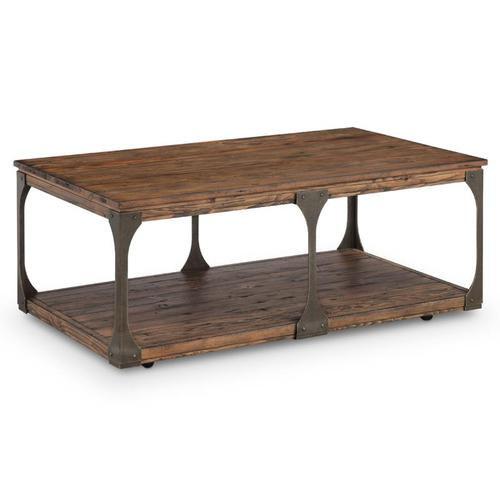 Magnussen Home - Rectangular Cocktail Table (w/Casters)