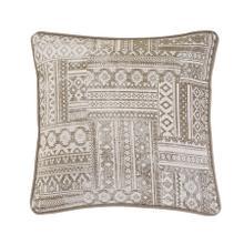 Trent Aztec Patchwork Pillow, 18x18