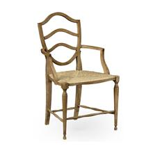Bodiam Washed Oak Arm Chair