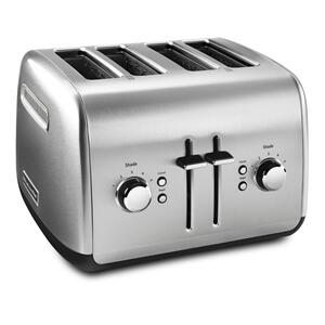 KitchenAid4-Slice Toaster with Manual High-Lift Lever - Brushed Stainless Steel