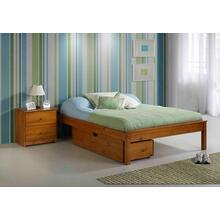 """See Details - 53"""" Jumbo Under Bed Chest Fits On Side of Bed"""