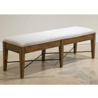Bench w/Upholstered Seat Product Image