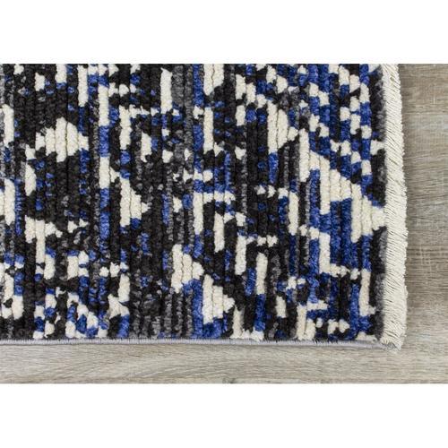 Calabar 8611 Black Grey Blue 3 x 5