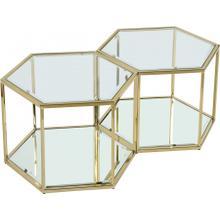 "Sei Modular 2 Piece Coffee Table - 40"" W x 23.5"" D x 16.5"" H"