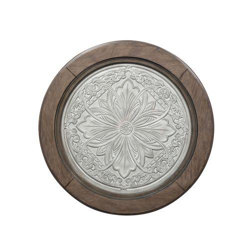 Round Ceiling Tile Cocktail Table