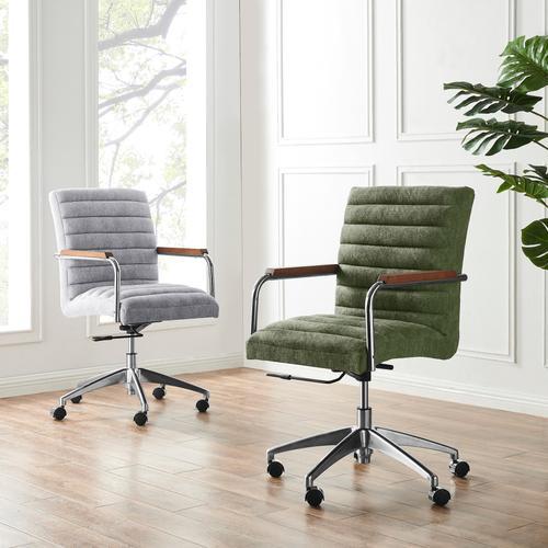 Tobin KD Fabric Office Chair, Smash Gray