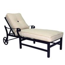 View Product - Bellagio Cushioned Chaise Lounge