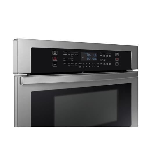 "30"" Microwave Combination Wall Oven in Stainless Steel"