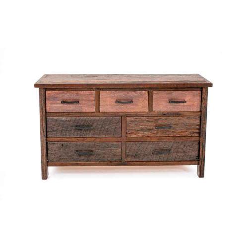 Copperhead 7 Drawer Dresser