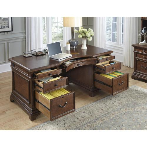 "66"" Curved Exec Desk"