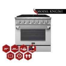"36"" Pro Class Kitchen Range"