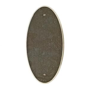 Oval Escutcheon - E560 Silicon Bronze Brushed Product Image