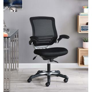 See Details - Edge Mesh Office Chair in Black