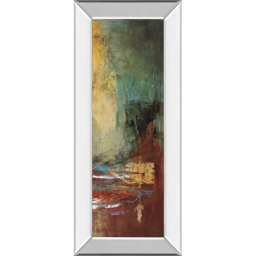 """""""Villarreal Santos III"""" By Abulia Mirror Framed Print Wall Art"""