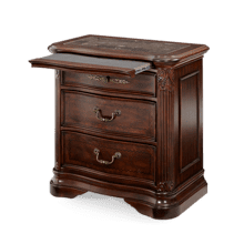 Villagio Nightstand Hazelnut