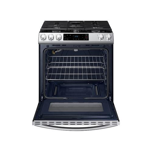 6.0 cu ft. Smart Slide-in Gas Range in Stainless Steel