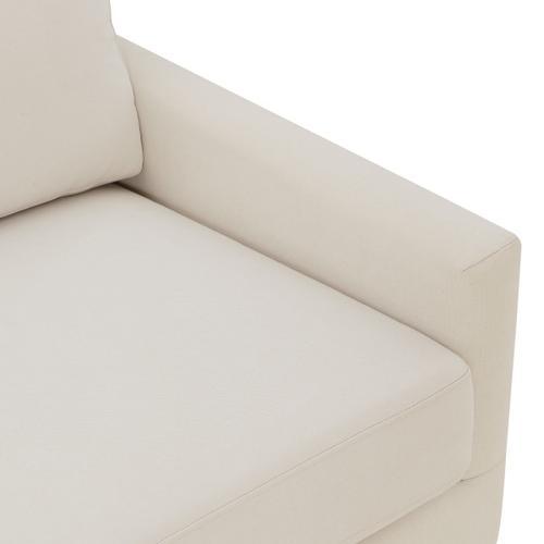 Modern Slipcover Style Sofa in Dune Beige