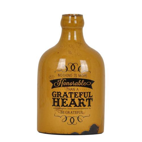 Crestview Collections - Greatful Heart Vase