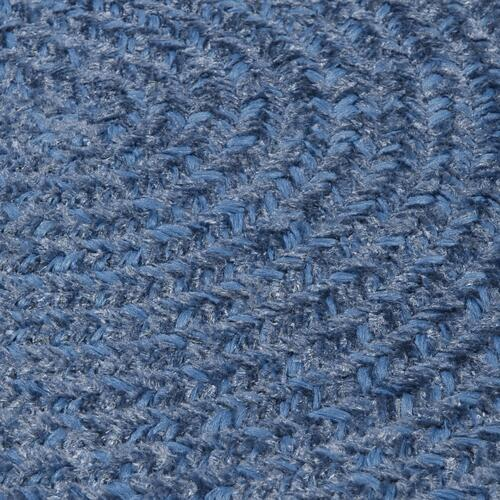 Barefoot Chenille Bath Rugs Rug BF04 Ice Blue 1' X 2'