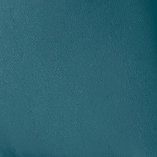 "Armen Living - Carise Blue Faux Leather and Black Metal Swivel 30"" Bar Stool"