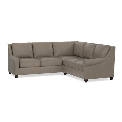 Ellery Leather L-Shaped Sectional