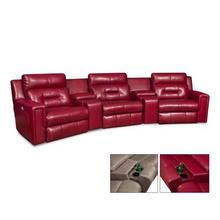 See Details - Excel 5PC Reclining Sectional