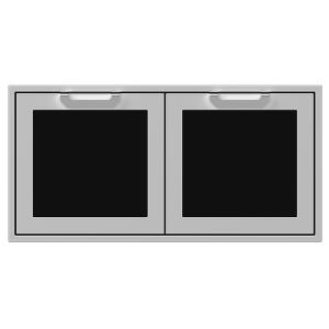 "42"" Hestan Outdoor Double Access Doors - AGAD Series - Stealth"