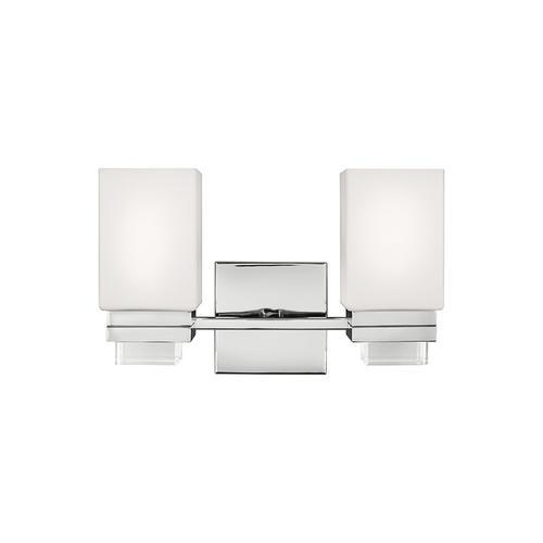 Maddison 2 - Light Vanity Polished Nickel
